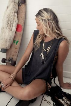 Style Envy: Chic Surfer Chicks