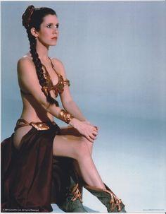 Slave Leia - Princess Leia Organa Solo Skywalker Photo (11031244) - Fanpop fanclubs