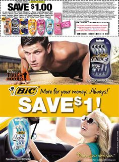 BIC Commissary Coupon http://www.mymilitarysavings.com/blog/2087-bic-savings-