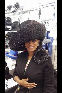 Lady Shirley Perpener in black Louise D.Patterson Couture by Joyce Richardson