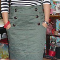 Pencil skirt with pockets!