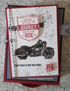 one wild ride stampin up andrea h 2