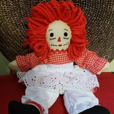 Just Listed recycled materials utilized ... Handmade Raggedy Ann 10 Inch Doll 3A by Fabpatterns1015 - $12.00 .  FREE SHIPPING U.S.A.  http://etsy.me/1ULXeNg .  #fit #follow #like #shar #wp #fb #tweet #twitter #buffer #DIY #supply #sewing #emporium #boutique #studio #seamstress #recycle #handmade #custom #show #raggedyann #doll #pic #photo #oftheday #blog #pop #madeinusa #tagsforlike #fabpatterns1015 .  @instagram @sharpharmade