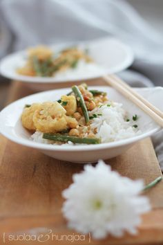 Kukkakaali-kikherne-papucurry /Suolaa