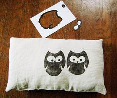 diy owl pillow.. I want to do this!