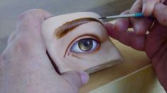 How to paint a doll head