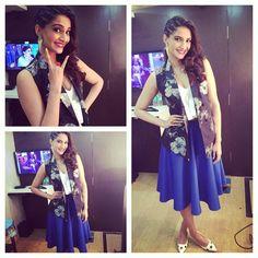 Sonam Kapoor's Khoobsurat fashion diaries. #Bollywood #Fashion #Style #Beauty