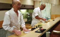 City guide: Tokyo: Sukiyabashi Jiro Popularised by the 2011 movie Jiro Dreams of Sushi, this is where to find some of the world's best sushi. But make sure to book in advance, as Sukiyabashi Jiro is no secret — in fact, it has three Michelin stars! Tsukamoto Sogyo Building, Basement  1st Floor, 2-15 Ginza 4-chome, Chuo-ku,  (+81) 335 353 600.   Image courtesy of Magnolia Pictures