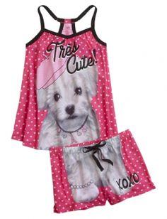 French Dog Pajama Set