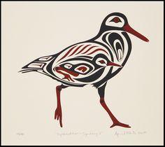 Coastal Peoples Fine Arts Gallery - April White Haida Kunst, Haida Art, Arte Tribal, Tribal Art, Doodles Zentangles, Native American Symbols, Raven Art, Coastal Art, American Indian Art