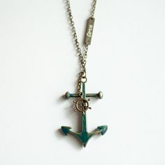 Anchored By Love Necklace | Love makes us do crazy things and that's alright. This is not ... | Necklaces