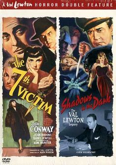 Val Lewton Horror Double Feature: The 7th Victim / Shadows in the Dark (Documentary) DVD Starring Tom Conway; Directed by Mark Robson; Warner Home Video $3.98 on OLDIES.com