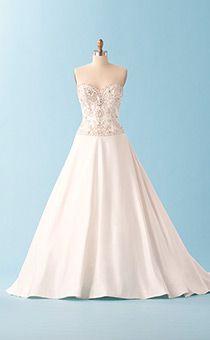 Wedding Gowns   Alfred Angelo Bridal Collection   Disney's Fairy Tale Weddings & Honeymoons-Jasmine