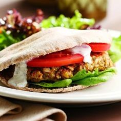 Chickpea Burgers  - EatingWell.com