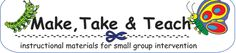 Enjoy these free Make, Take & Teach sample activities. Activities will be periodically updated. Become a Facebook fan or join our email list to receive notifications of newly added activities posted on this page.