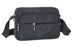 Fabuxry® Women's Casual Bag Travel Nylon Handbags Cross Body Messenger Shoulder Bags