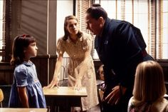 Image result for matilda ms trunchbull and miss honey
