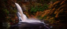 This was the last of the Autumn colors near my area.  The weather seemed to change so fast that I never really had a chance to get a feel for the arrival of peak color.  Pretty sure I missed most of it this year.  The image is a long exposure 3-shot panoramic image of the Bushkill Falls in the Delaware Water Gap.  Used a 10-stop ND Filter to get around 60 sec exposures.