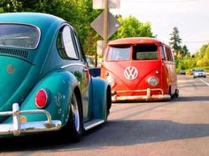 Volkswagens. They both will be in my drive somehow someday