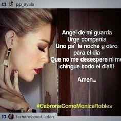 La oración que nos enseña Fernanda a las #CabronasComoMonicaRobles