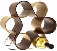 33 Creative Storage Ideas for Wine Bottles Adding Convenience and Interest to Interior Design Wine Rack Furniture, Furniture Decor, Furniture Shopping, Online Furniture, Furniture Design, Cool Kitchen Gadgets, Cool Kitchens, Cool Wine Racks, Modern Wine Rack