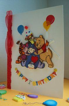 5 Winnie The Pooh Birthday Card   Birthday Cards Designs