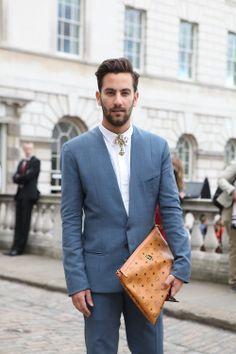 From suohmi-n.tumblr.com | Men's Fashion, Collar necklace + man purses