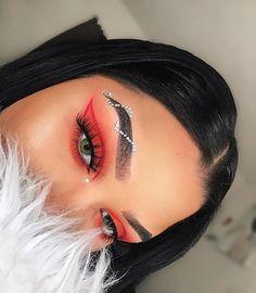 Gorgeous Makeup: Tips and Tricks With Eye Makeup and Eyeshadow – Makeup Design Ideas Glam Makeup, Baddie Makeup, Cute Makeup, Gorgeous Makeup, Pretty Makeup, Skin Makeup, Eyeshadow Makeup, Beauty Makeup, Makeup Tips