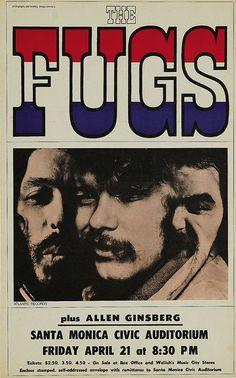 Fugs - Santa Mônica - Allen Ginsberg