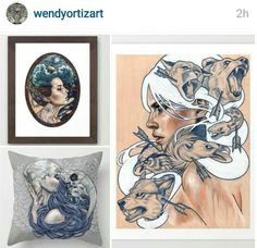 Amazing masterpieces by the very talented Wendy_Ortiz_Art, find on Instagram: Wendy_Ortiz_Art