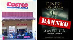 Costco, NYT, Google all systematically suppressing Dinesh D'Souza's bestselling book 'America'.Read more!.......The Communists are AFRAID of the TRUTH!!!