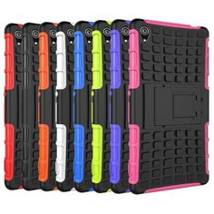 Heavy Duty Silicone Rugged Holster Hard Case For Sony Z3
