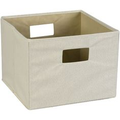 these are 13x13x10 and may work  Household Essentials Dual-Handle Canvas Storage Bin