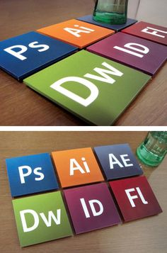 Designer Set Coasters