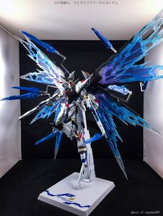 GUNDAM GUY: METAL BUILD Strike Freedom Gundam Wing of Light Effect Part Set - Review Images