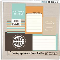 freebies Bon Voyage with something old, something new plus something free :) ~ Mira Designs