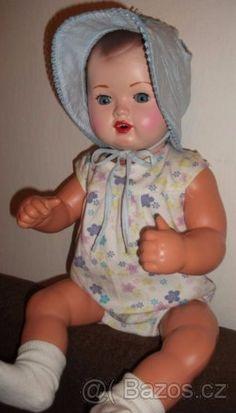 Retro panenky -mimina - 1 Hello Dolly, Dolls, Retro, Face, Vintage Dolls, Baby Dolls, Puppet, Doll, The Face
