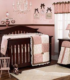 Loveeee pink and dark cherry wood!