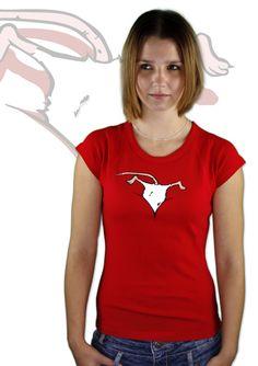 Maus im Ausschnitt T-Shirt    http://www.bastard-shop.de/damen-t-shirts/maus-im-ausschnitt-t-shirt-194/
