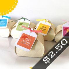 Bridal Shower Favors Boxed Soaps 2.50 each Unique by BButtonsCo