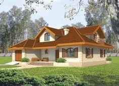 Dream Home Design, My Dream Home, House Design, Casas The Sims 4, Modern House Plans, Design Case, Simple House, Ground Floor, Home Fashion