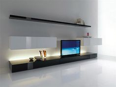 TV unit idea for media room