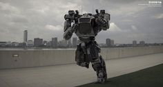 Watch Korea's mech take its first steps with a pilot on board