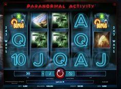Игровой автомат Paranormal Activity на деньги.  Обязательно сыграйте на реальные деньги в Paranormal Activity, если вы любите фильмы ужасов и большие выигрыши. В этом игровом автомате вас ждет уникальное графическое оформление и множество других интересных свойств и прибыльных �
