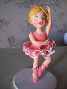 Topo de bolo, bailarina