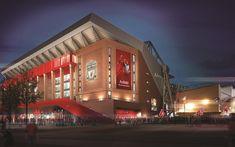 Télécharger fonds d'écran Liverpool FC, Anfield Road, le stade de football, terrain de sport, Angleterre, royaume-UNI