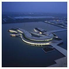"styletaboo: "" Álvaro Siza + Carlos Castanheira - Building on the Water [China, 2014] """