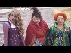video how to make sanderson sisters, not bad. I would tweak them a bit more