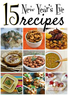 15 New Years Eve Recipes