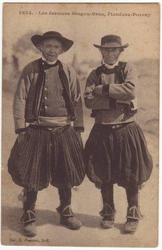 costumes de France - les derniers Bragou-Braz de Plonévez Porzay